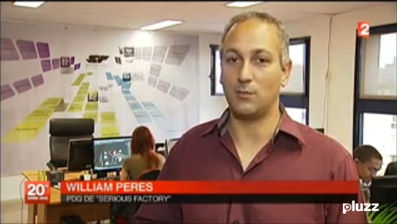 Interview Serious Factory Journal Télévisé 20H France 2 - 20/07/12