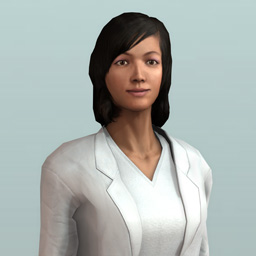 Personnage VTS Editor femme