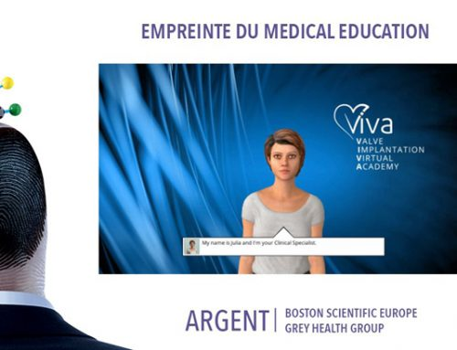 Serious Factory remporte le Prix Argent du Medical Education aux Empreintes 2018 pour le Serious Game Viva